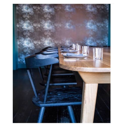 Wallpaper by Eskayel at DAME, Portland - Cocos-Midnight