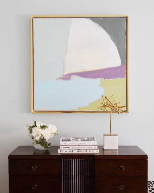 Paintings by Mary Elizabeth Peterson seen at Private Residence, Brooklyn - Abstract painting