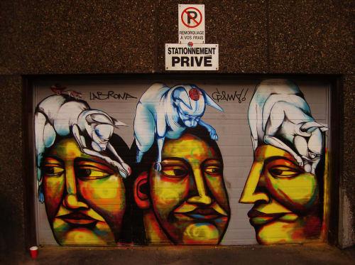 Felix Labrona - Street Murals and Public Art