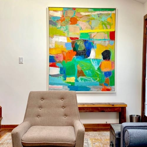 Paintings by Michael Hedges seen at Private Residence, Union Pier - Painting