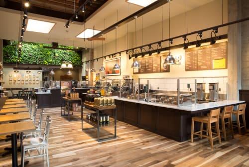 Peet's Coffee, Cafès, Interior Design