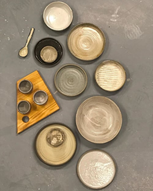 Tableware by Ceramicsbytiz seen at Private Residence - Collection of Tableware