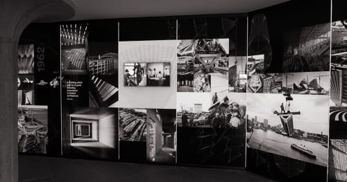 Photography by Sam Doust seen at Sydney Opera House, Sydney - Video Wall