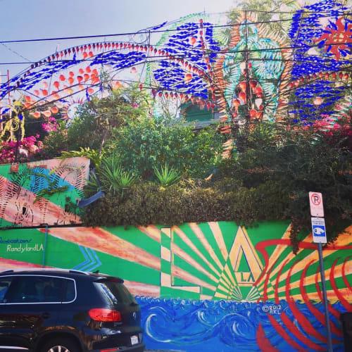 Sculptures by RandylandLA seen at Randyland, Los Angeles - Phantasma Gloria