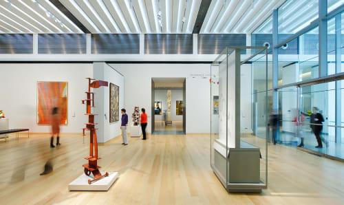 Art of The Americas Building, Art Galleries, Interior Design