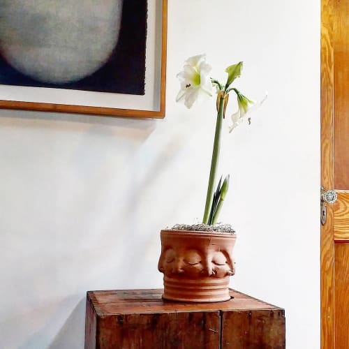Vases & Vessels by Hollow Work by Kate Hardy seen at Private Residence, Washington, DC - Face Vase
