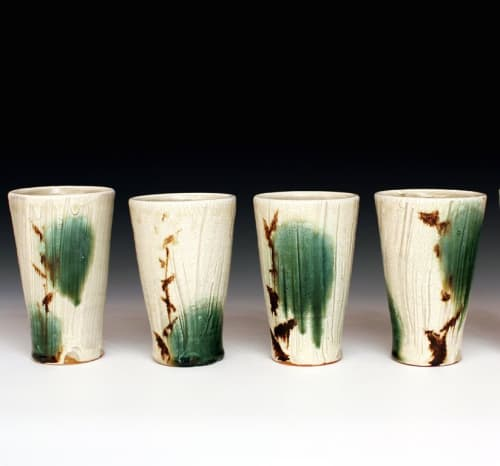 Cups by Matthew Krousey Ceramics seen at Matthew Krousey Ceramics, Harris - Ceramic Tumblers