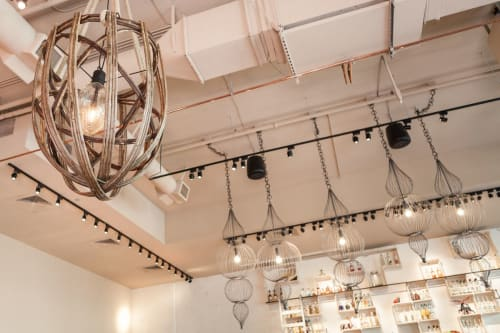 Lighting by Louise Mann seen at Calavera, Oakland - Handcrafted Light Fixtures