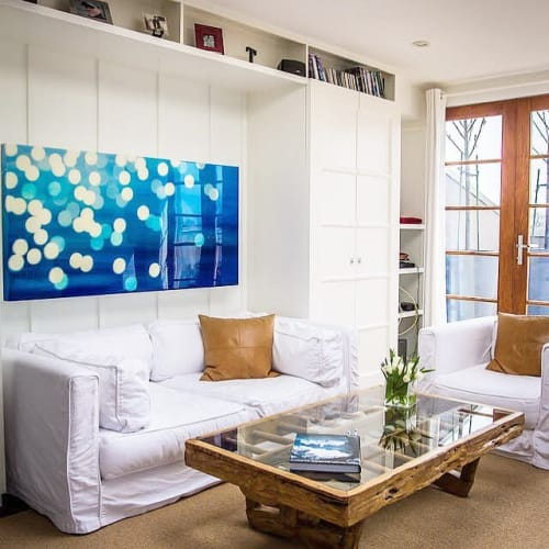 Paintings by Rachelle Kearns seen at Private Residence, Toronto - Blue Mercyscapes