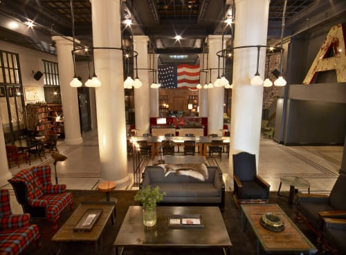 Ace Hotel New York, Hotels, Interior Design