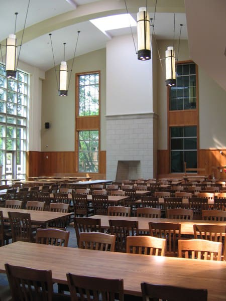 Pendants by ILEX Architectural Lighting at Vanderbilt University, Nashville - Tri-stem Pendants