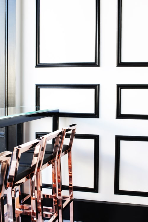 Chairs by Jessica Marx of J. Marx Atelier seen at Bo Nuage, Los Angeles - Frame Barstool