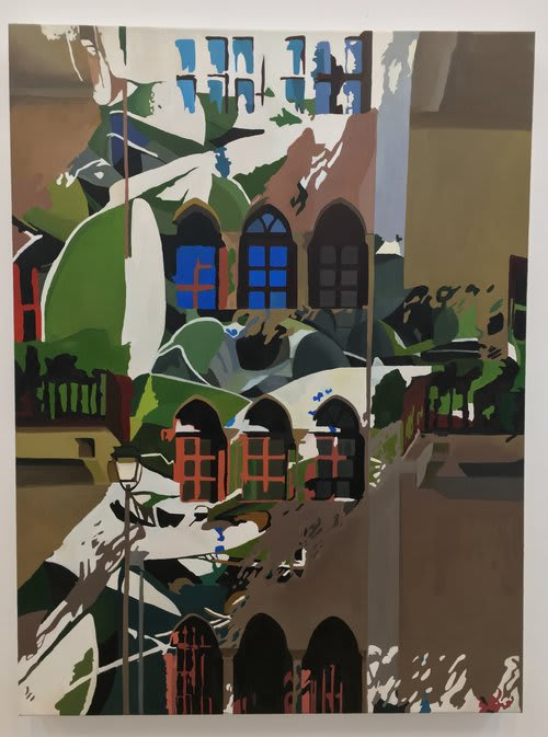 Paintings by Daryll Westly seen at Private Residence, New York - Interior/Exterior #2 Facade