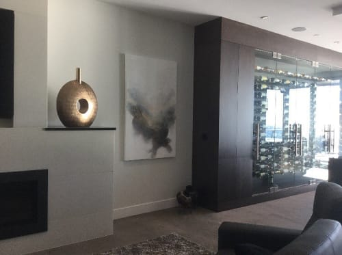 Paintings by Donna Giraud seen at Private Residence, White Rock - Esope