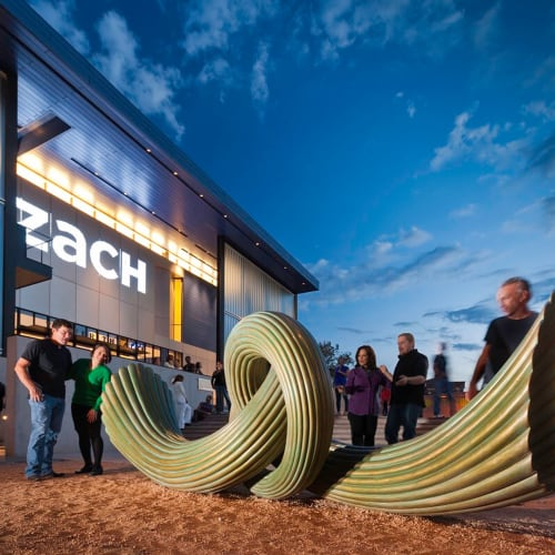 Public Sculptures by Cliff Garten seen at ZACH Theatre, Austin - Rhytons