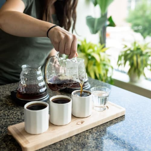 Cups by CONVIVIAL seen at Messenger Coffee Co. + Ibis Bakery, Kansas City - Riveted Flight | 6 OZ
