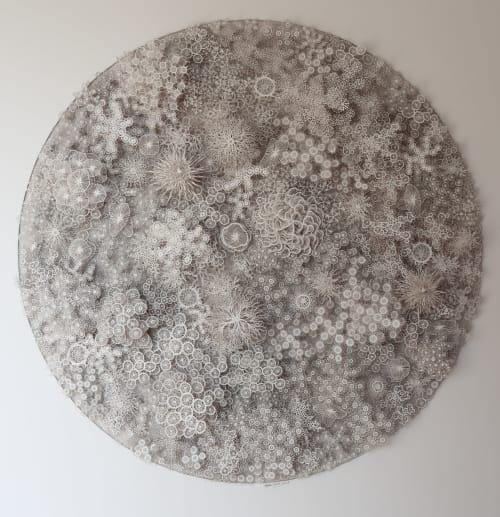 Sculptures by Rogan Brown seen at Galerie Bettina, Paris - Magic Circle Variation