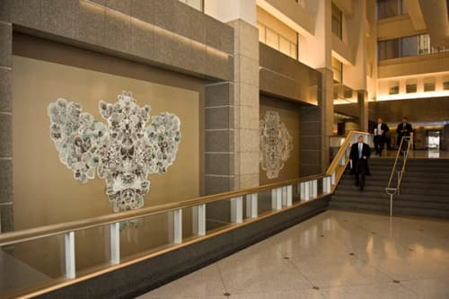 Art & Wall Decor by Allison Svoboda seen at Two Prudential Plaza, Chicago - Kite Mandalas