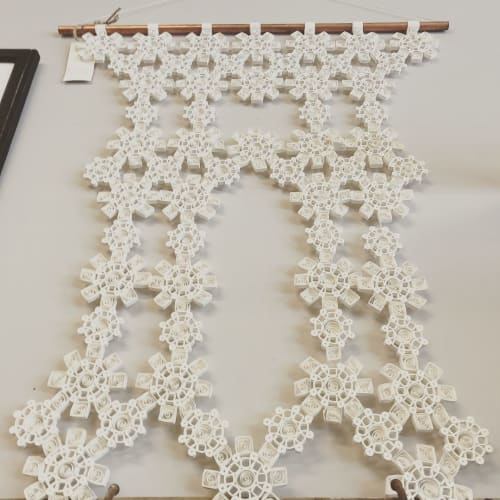Macrame Wall Hanging by Griffin Carrick Design seen at Leclair's General Store, Fayetteville - Quilling