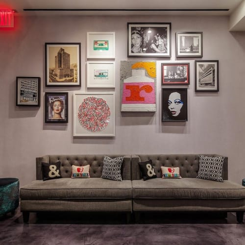 Wall Hangings by Nina Boesch seen at Renaissance New York Hotel 57, New York - Painting