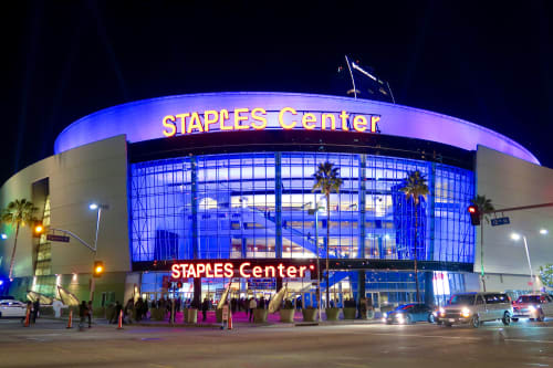 STAPLES Center - Clippers Private Lounge