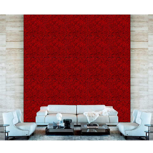 Paintings by Giuliano Bekor seen at Private Residence, Beverly Hills - Roses Series