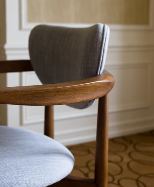 Chairs by West Elm seen at JW Marriott Essex House New York, New York - Dane Arm Dining Chair