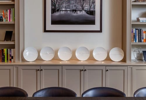 Ceramic Plates by Sophie Calle at Williamson Residence, Williamson - Dinner Service