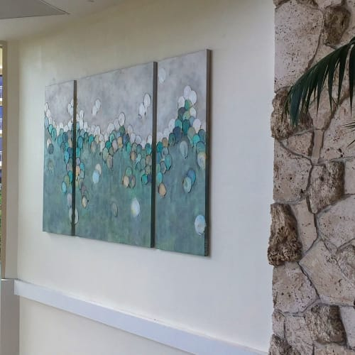 Paintings by Donna Giraud seen at JW Marriott Marco Island Beach Resort, Marco Island - Marco Island