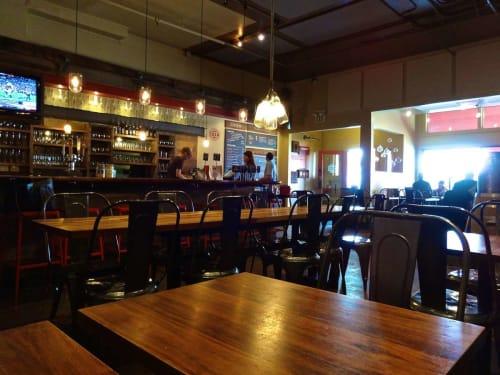 Roam Artisan Burgers, Restaurants, Interior Design
