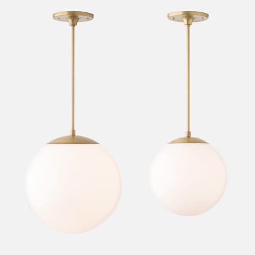 Pendants by Schoolhouse Electric at The Joshua Tree House, Joshua Tree - Luna Pendant
