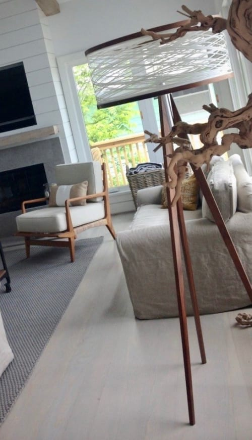 Lamps by Papay Designs at Private Home, Galveston - Sinuous Floor Lamp