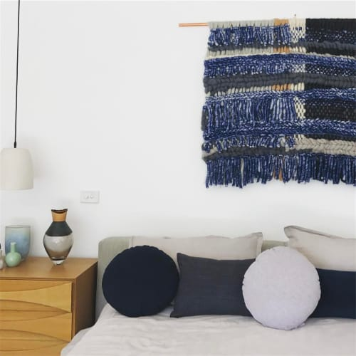 Art & Wall Decor by Tammy Kanat seen at Private Residence, Melbourne - BEDROOM BLUES