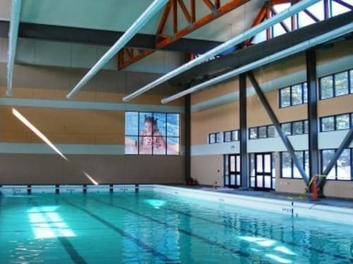 Coffman Pool, Public Service Centers, Interior Design