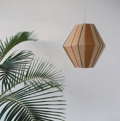 Lamps by Werajane Design seen at Private Residence, Leipzig - Lamp Design