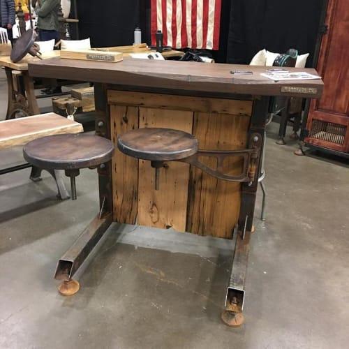 Tables by Wettrock Co. - Swing Arm Stool