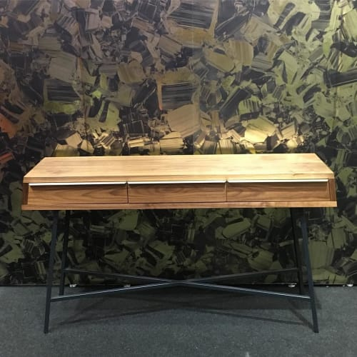 Furniture by David Gaynor Design seen at Piers 92/94, New York - TZoid Console