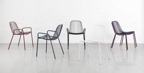 Chairs by m.a.d. furniture design seen at Moby, Armadale - Resonate Chairs