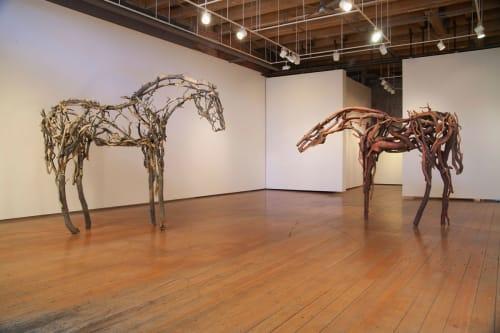 Deborah Butterfield - Sculptures and Art