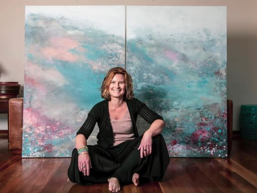Paintings by Kathleen Rhee seen at Gold Coast, Gold Coast - Art Lovers Australia Interview