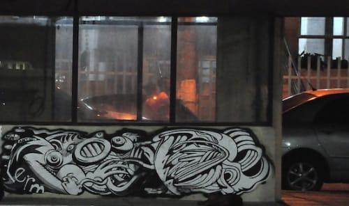 Street Murals by Paul Santoleri seen at Salvador, Salvador - Barnacles