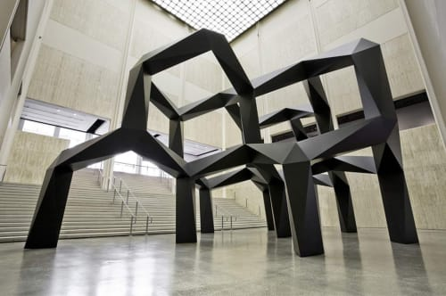 Tony Smith - Sculptures and Art
