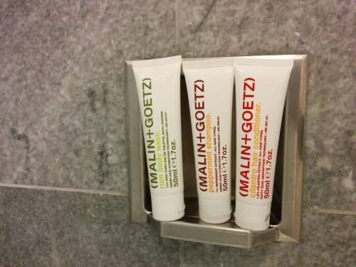 Beauty Products by MALIN + GOETZ seen at The Clift, San Francisco - Toiletries