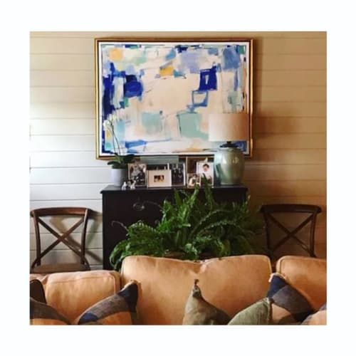 Paintings by Caroline Swetenburg at Private Residence, Athens - Commissioned Painting