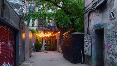 Freeman Alley, NYC, Urban Canvases, Interior Design