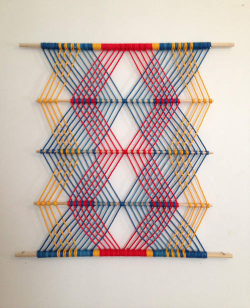Macrame Wall Hanging by Sally England at Freehand Chicago, Chicago - Macramé Work