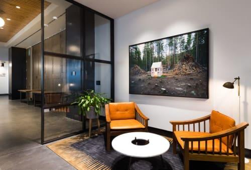 Art Curation by NINE dot ARTS seen at The Maven Hotel at Dairy Block, Denver - Art Curation