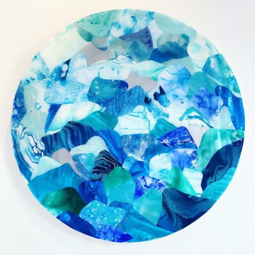 Paintings by Ari Robinson at Nikki Beach Miami, Miami Beach - Collages