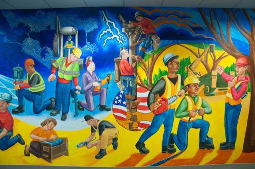 Eduardo Pineda Storytelling Walls - Murals and Art