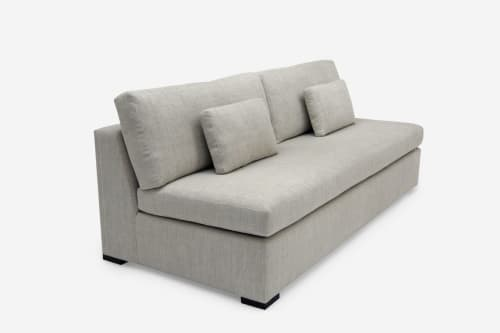 Couches & Sofas by ROOM seen at Private Residence, New York - Blanche Armless Sofa